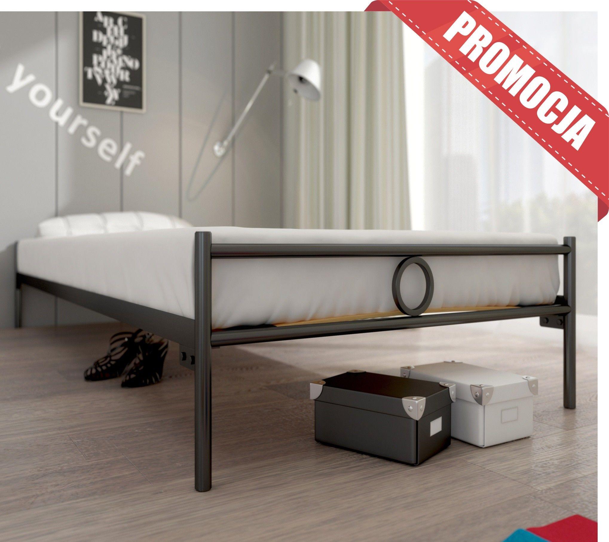 łóżko Lak System Basic 100 x 200 ze stelażem