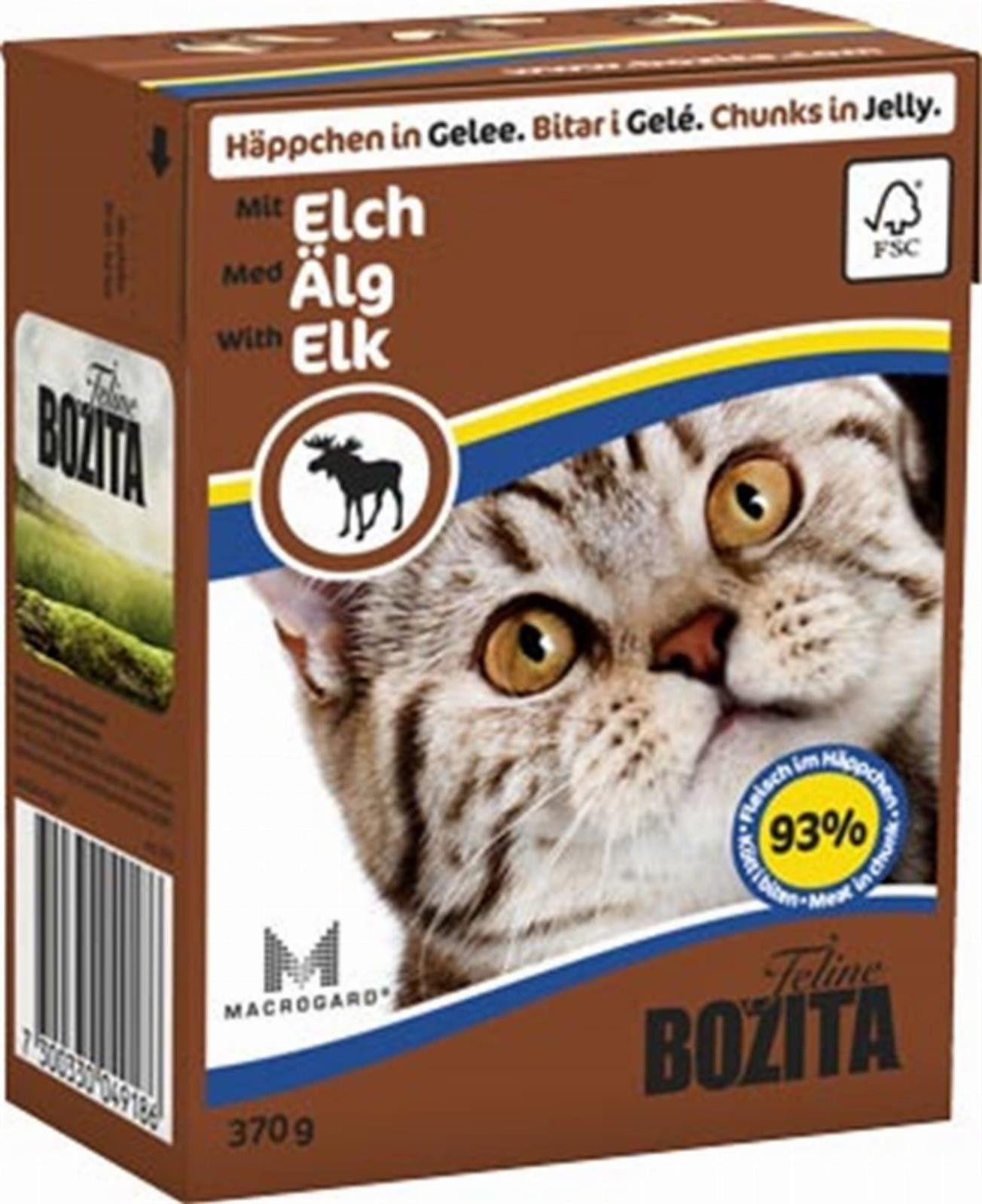 Bozita Feline 370g Łoś w Galaretce