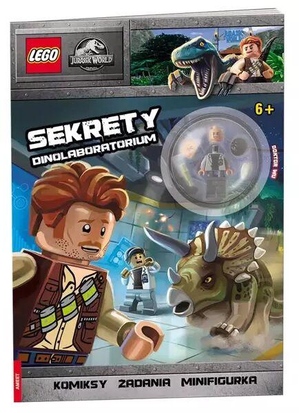 Lego Jurassic World Sekrety dinolaboratorium LNC-6203 - Opracowania Zbiorowe