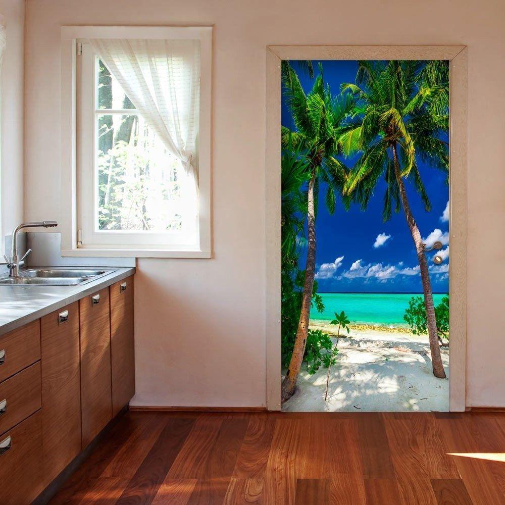 Fototapeta na drzwi - tapeta na drzwi - wyspa, plaża