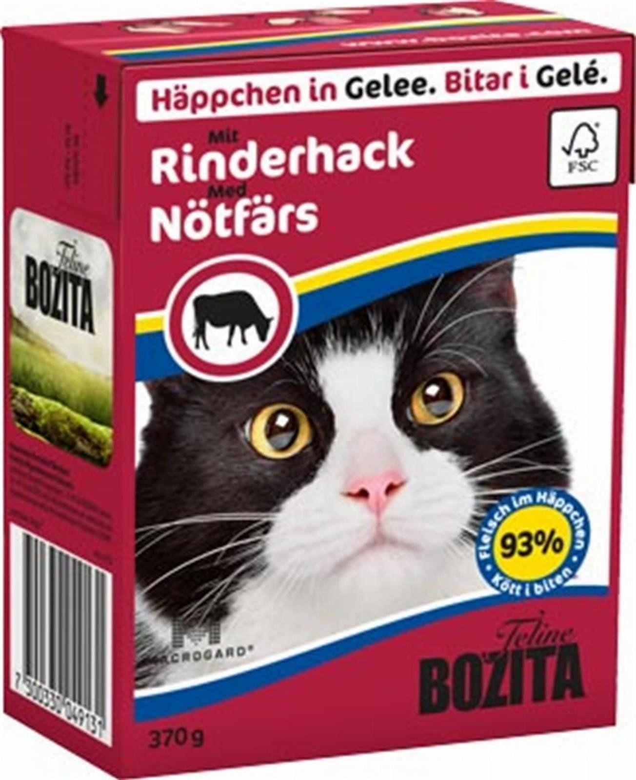Bozita Feline 370g Wołowina w Galaretce