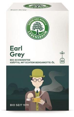 Herbata EARL GREY ekspresowa BIO (20 x 2 g) 40 g Lebensbaum