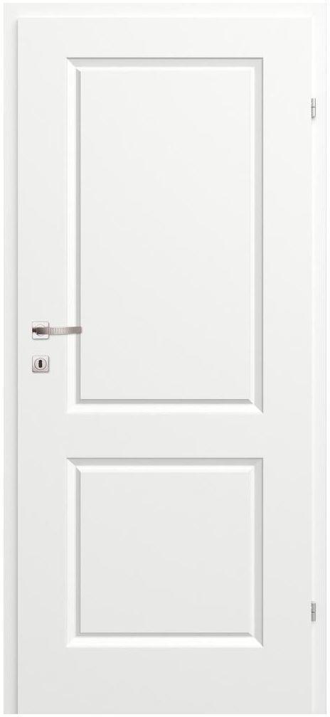 Skrzydło drzwiowe pełne MORANO II Białe 90 Prawe CLASSEN
