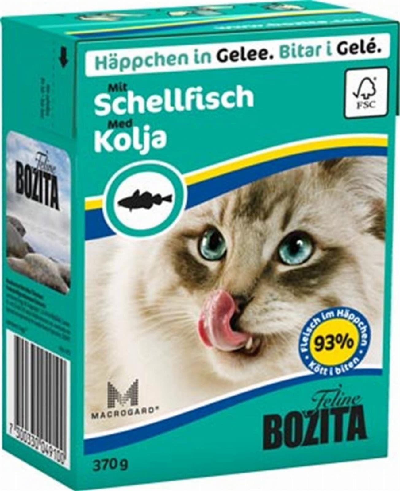 Bozita Feline 370g Dorsz w Galaretce