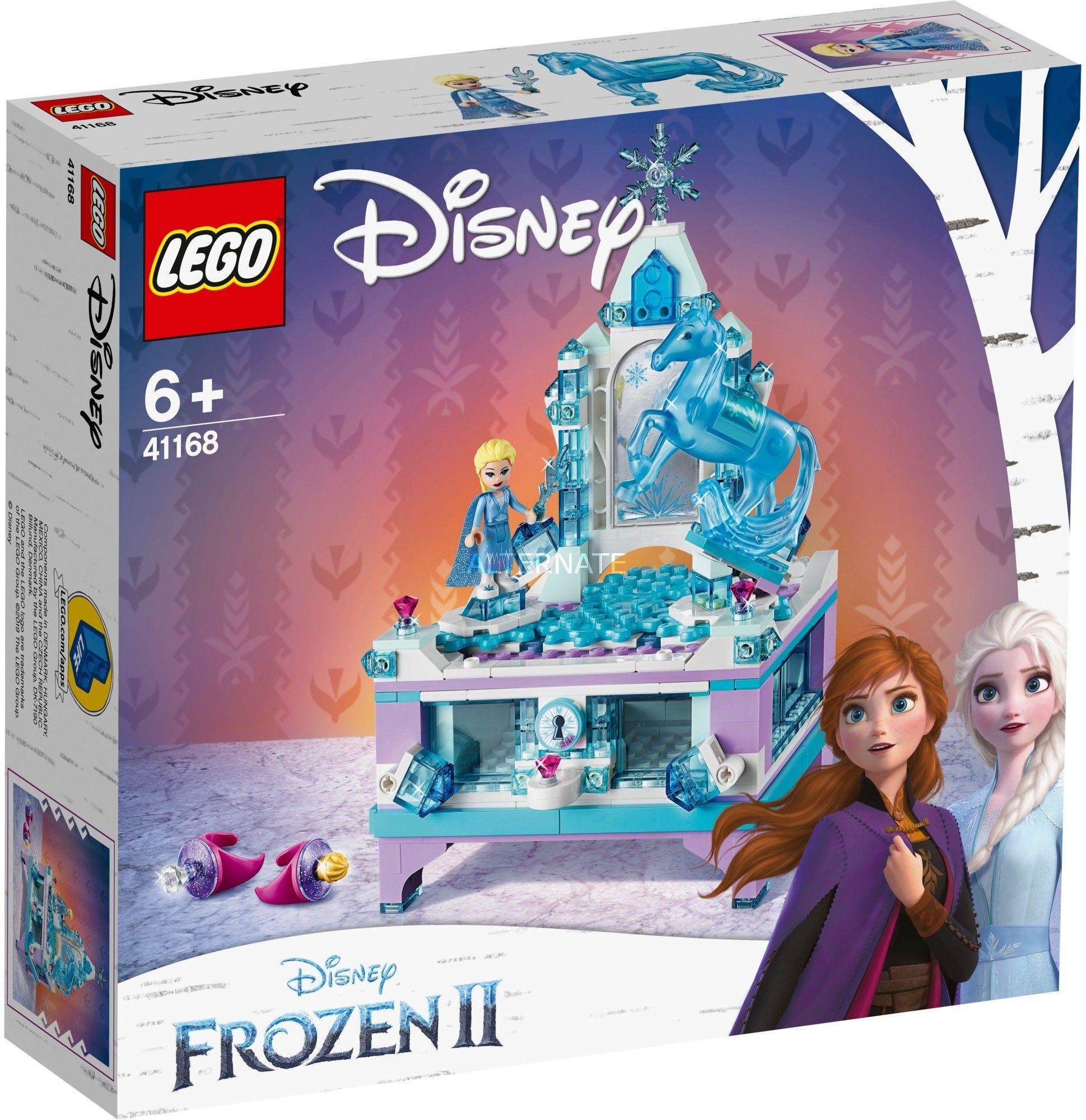 LEGO Disney Princess - Szkatułka na biżuterię Elsy 41168