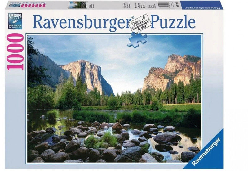 Puzzle 1000 elementów Park narodowy Yosemite (GXP-764287)