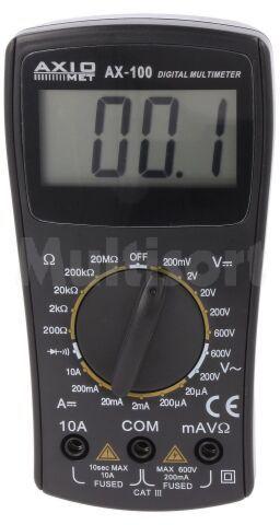 Multimetr cyfrowy Axiomet AX-100 LCD (1999)