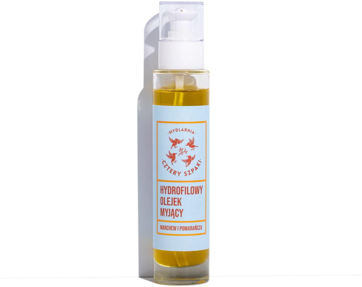 Cztery Szpaki Hydrofilowy Olejek Myjący - Marchew i Pomarańcza 100 ml