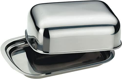 kela Vision maselniczka ze stali nierdzewnej, kolor srebrny, 19243, 15,5 x 11 x 5 cm