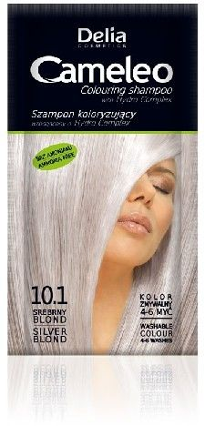 Delia Cameleo Szampon koloryzujący 10.1 Srebrny Blond 40ml