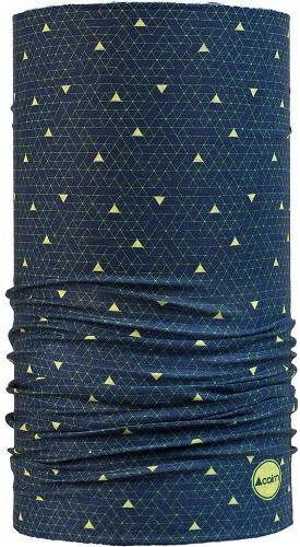 CAIRN chusta wielofunkcyjna MALAWI TUBE granatowo żółty,3267654649772