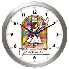 Zegar pamiątka I Komunii #A1