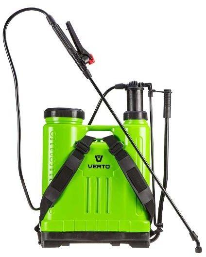 VERTO Opryskiwacz ciśnieniowy na szelkach 20L 15G508