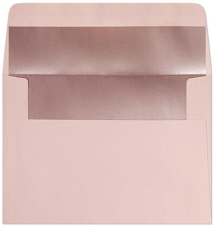 Koperta Gładki różowy-metalizowany C6 10 sztuk w opakowaniu Argo 280223 Rabaty Porady Hurt