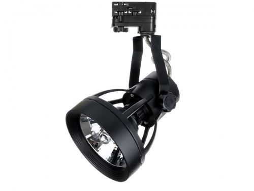 Lampa szynowa MADARA GU10 AR111 PAR30 czarna
