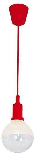 LAMPA WISZĄCA BUBBLE RED 5W E14 LED CZERWONA