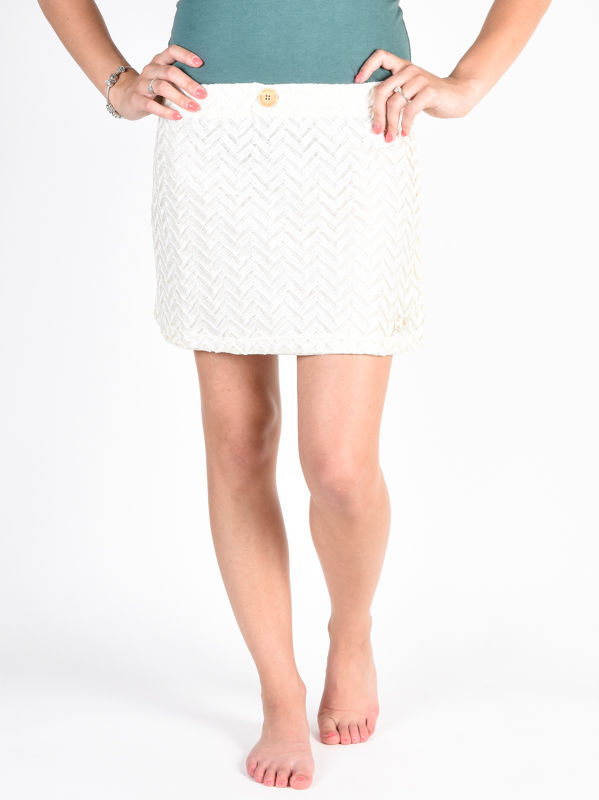 Picture Bella off white spódnice knee - L