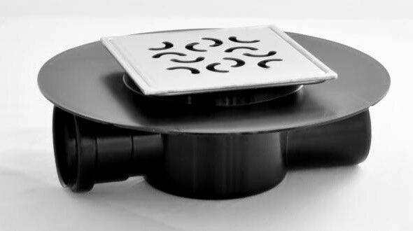 Wpust łazienkowy boczny fi 50 punktowy Aqua Ambient Super ARCO wys.63mm
