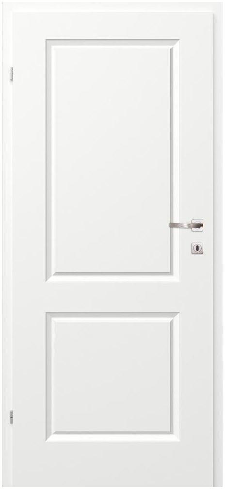 Skrzydło drzwiowe pełne MORANO II Białe 90 Lewe CLASSEN
