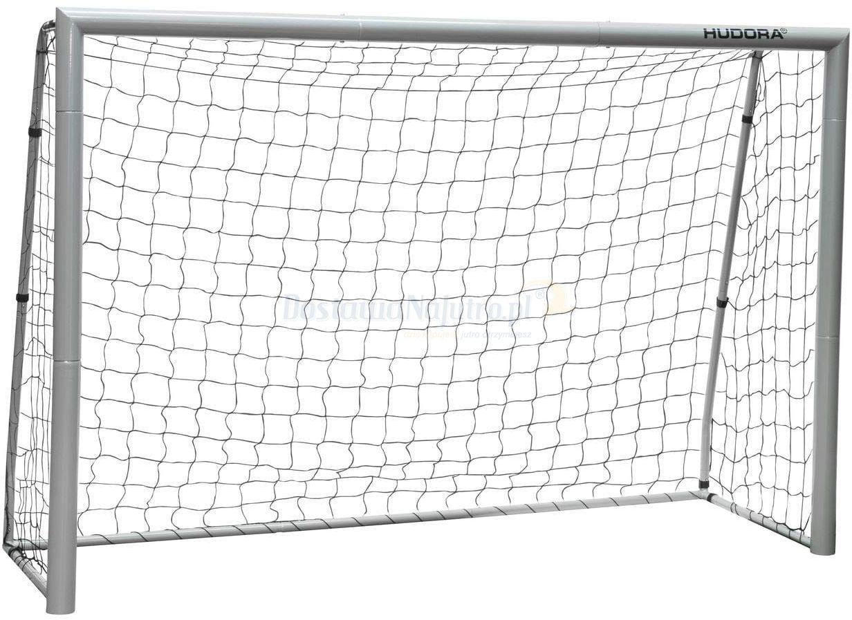 Bramka piłkarska Expert 240 HUDORA 240x160 rury 75mm z siatką