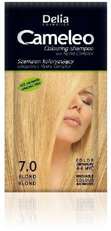 DELIA Cosmetics Cameleo Szampon koloryzujący 7.0 Blond 40ml