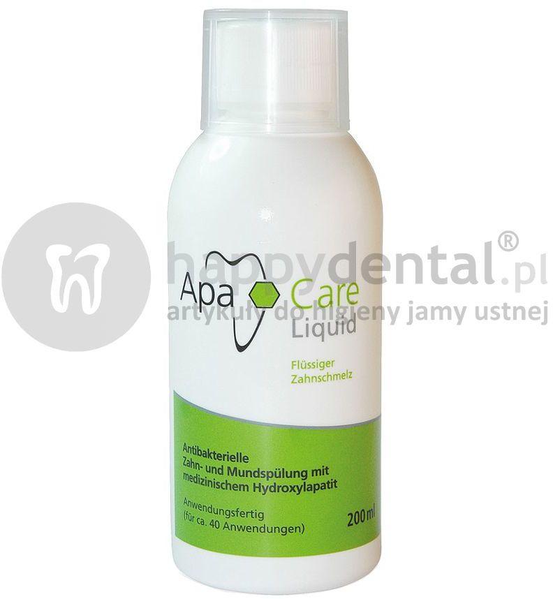 APACARE płyn do płukania jamy ustnej zawierający medyczny nanohydroksyapatyt 200ml
