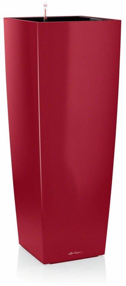 Donica lechuza cubico alto - scarlet red - połysk - czerwony
