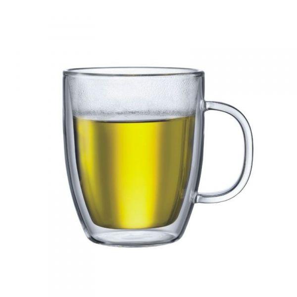 Bodum BISTRO 2 Kubki Termiczne do Herbaty 450 ml