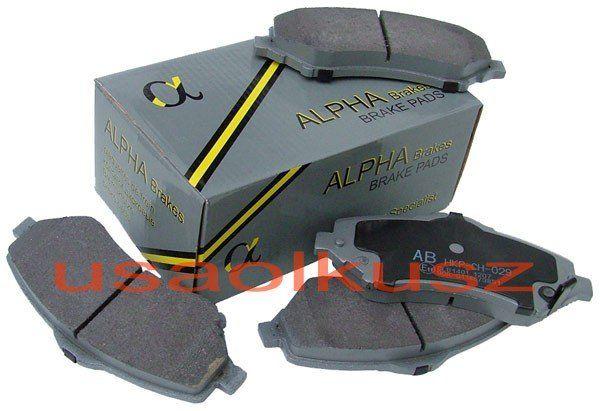 Klocki hamulcowe przednie do tarcz 302mm Dodge Journey - ALPHA