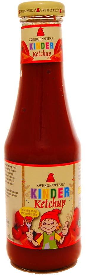 Ketchup dla dzieci bez dodatku cukru BIO - Zwergenwiese - 500ml