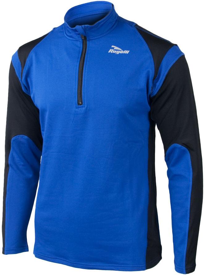 ROGELLI RUN - DILLON - lekko ocieplana męska bluza biegowa, kolor: Niebieski Rozmiar: 2XL,rogelli-dillon-niebieski