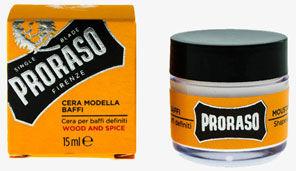 Proraso wosk do wąsów wood and spice 15ml