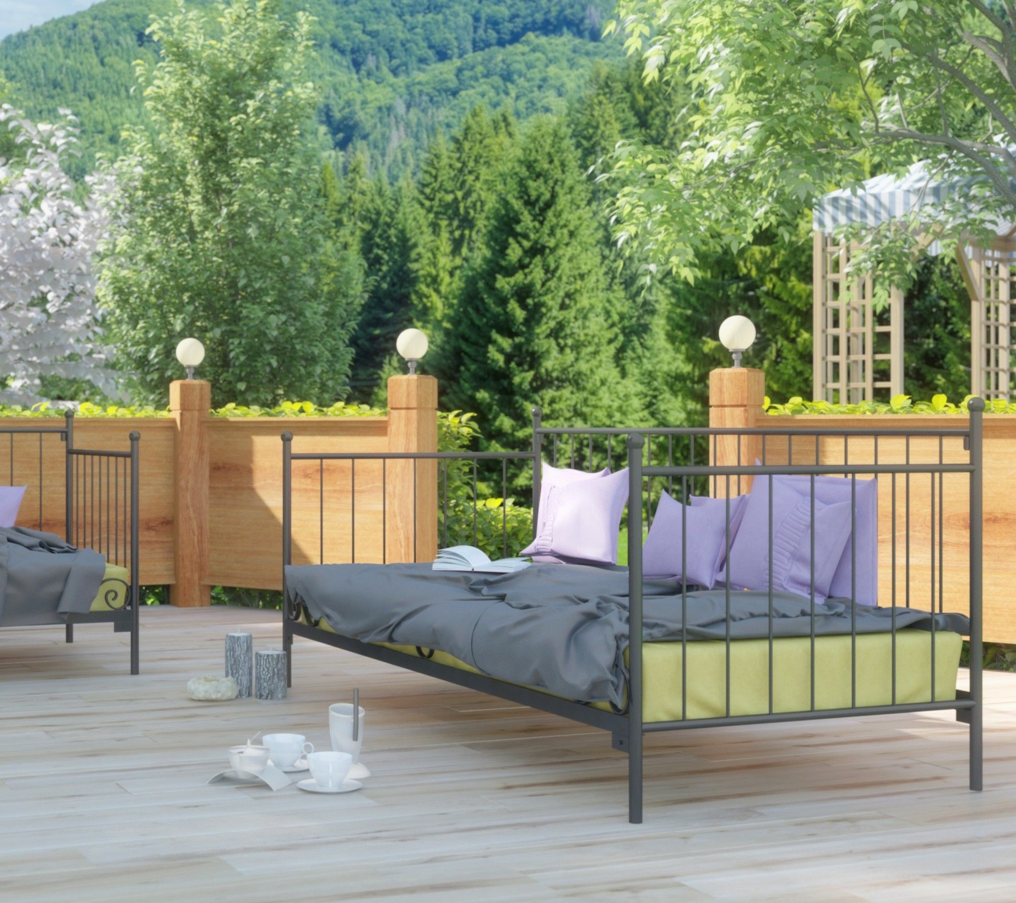Sofa ogrodowa Lak System wzór 14