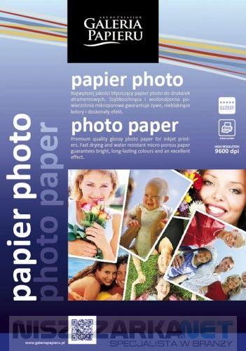 Papier photo glossy A4 240 g/m2 - 25ark fotograficzny błyszczący