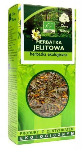 Herbatka JELITOWA BIO 50 g Dary Natury