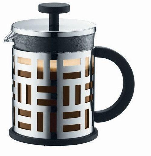 Bodum EILEEN Zaparzacz Tłokowy do Kawy 500 ml Srebrny