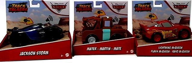 Mattel Cars Track Talkers - Zygzak z dźwiękiem GXT29