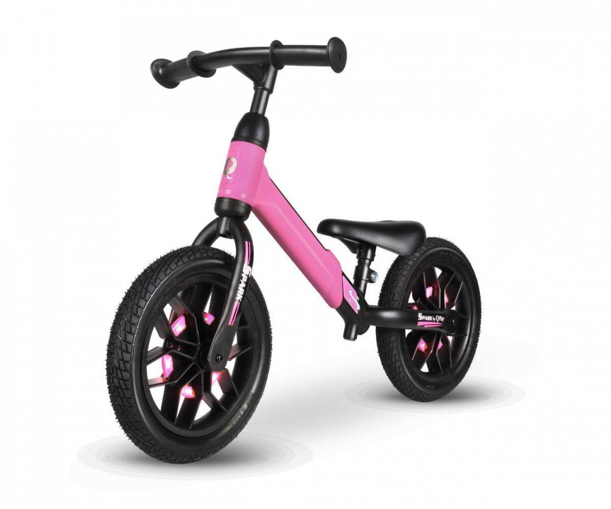Qplay Rowerek Biegowy Spark Pink