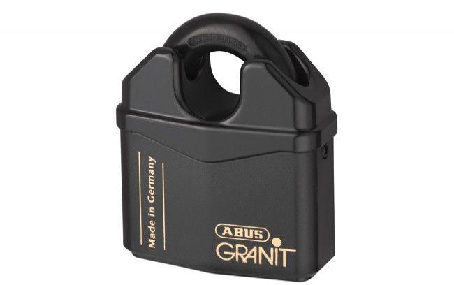 Kłódka antywłamaniowa Abus Granit 37/60 z krytym pałąkiem, 2 klucze