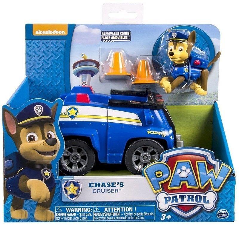 SPIN MASTER - PSI PATROL - CHASE I CRUISER POLICYJNY - 6052310 4321