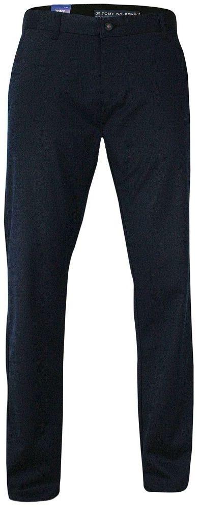Eleganckie Męskie Spodnie, Garniturowe, Klasyczne, typu Chinos Granatowe SPTWKRd112765granat