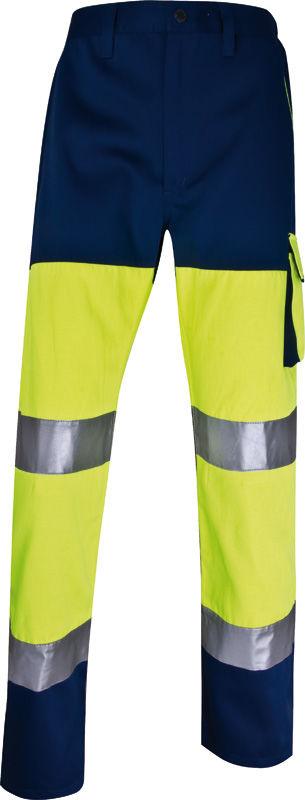 Spodnie robocze ostrzegawcze do pasa PHPAN
