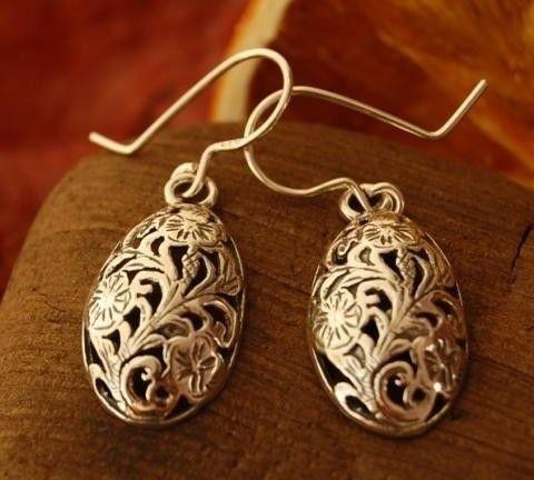 Santoro - srebrne kolczyki ze srebra