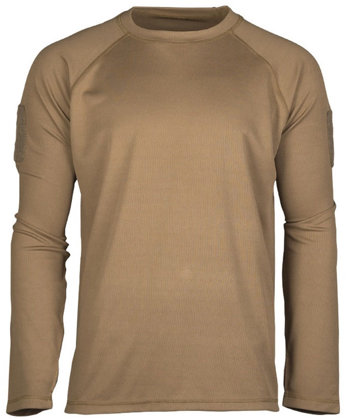 Koszulka termoaktywna Mil-Tec Tactical Coyote D/R (11082019)