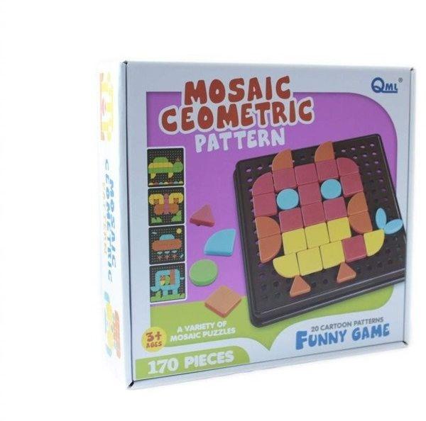 Mozaika geometryczna 170 elementów