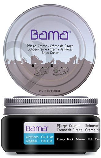 Krem do obuwia BAMA Premium 009 Czarny 50ml w słoiczku