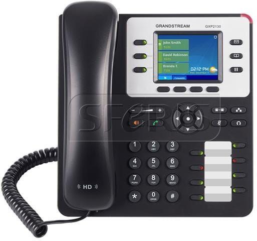 Grandstream GXP2130HD_v2 telefon VoIP - 3 konta