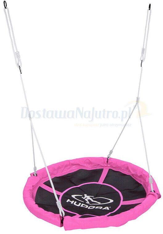 Huśtawka HUDORA gniazdo 110 cm max. 100 kg pełne siedzisko, różowa
