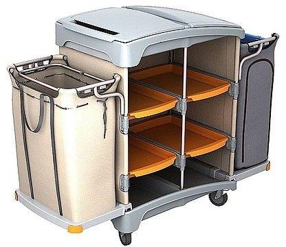 Wózek hotelowy Splast TSH-0011 z dwoma koszami 120L