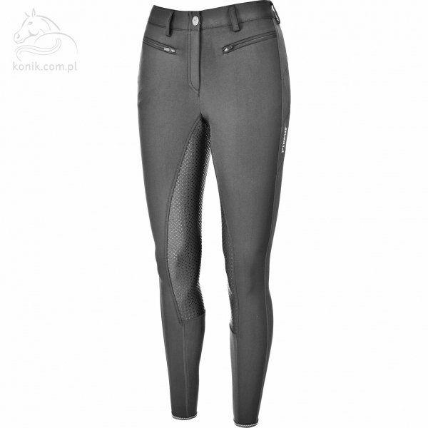 Bryczesy damskie CALIPPA GRIP Pikeur - steel grey